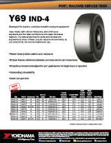 Yokohama OTR Y69 IND-4 Size Expansion
